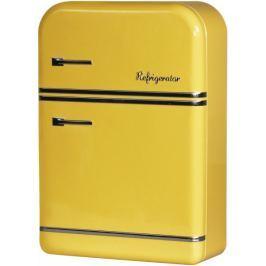 Time Life Úložná krabička lednice 25 cm, žlutá
