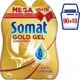 Somat Gold gel Anti-Grease 2x 1000 ml (90+10 mytí)