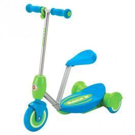 Razor Lil ES Electric Scooter Seated - modrá