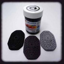 Food Colours Gelová barva  (Black) černá 35 g