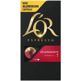 L'Or Espresso Splendente Intenzita 7 - 100 hliníkových kapslí kompatibilních s kávovary Nespresso® *