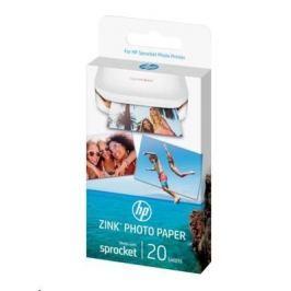 HP ZINK Sprocket Nalepovací papír (1DE37A)