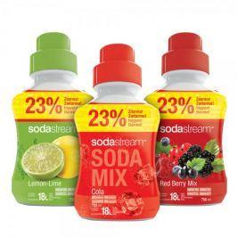 Sodastream Sada 2+1 SHOP MIXV ColRedLem 750ml SODA