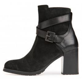 Geox dámská kotníčková obuv New Lise 37 černá