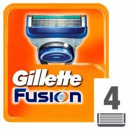 Gillette Fusion Náhradní hlavice k holicímu strojku 4 ks