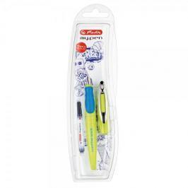 Herlitz Bombičkové pero my.pen-M, zeleno/modré