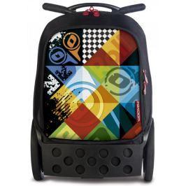 Nikidom Roller XL batoh na kolečkách Logomania