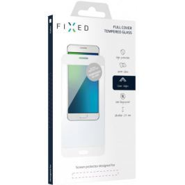 Fixed Full-Cover ochranné tvrzené sklo pro Huawei P10 Lite, přes celý displej, bílé FIXGF-194-033WH