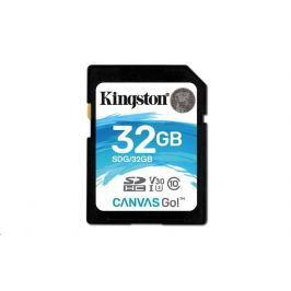 Kingston 32GB Canvas Go! SDHC UHS-I U3 + ad (SDG/32GB)
