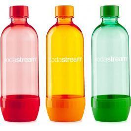 Sodastream Láhev 1 l Tri-Pack ORANGE/RED/GREEN