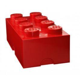LEGO Storage box 25x50 cm, červená