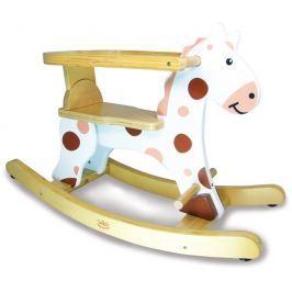 Vilac Dřevěný houpací kůň bílý