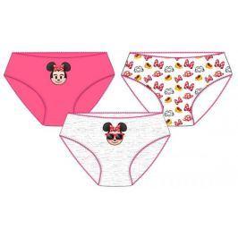 E plus M dívčí set 3ks kalhotek Minnie 98/104 vícebarevná