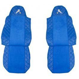 F-CORE Potahy na sedadla FX05, modré