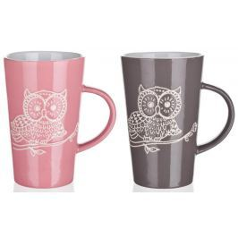 Banquet Hrnek keramický vysoký OWL 350 ml
