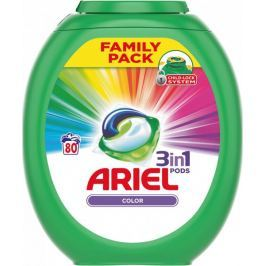 Ariel Color 3v1 gelové kapsle 80 ks