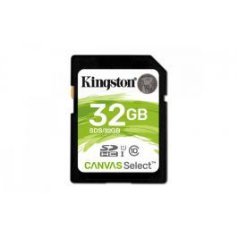 Kingston SDHC 32GB Canvas Select 80R Class 10 UHS-I (SDS/32GB)