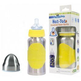 Pacific Baby Hot-Tot termoska 200 ml - žlutá/stříbrná
