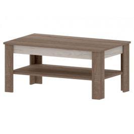 VENECIA B, konferenční stolek, dub sonoma truflový/dub craft bílý