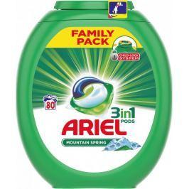 Ariel Mountain Spring 3v1 gelové kapsle 80 ks