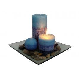 Toro Dárkový set 3 svíčky s vůní borůvek