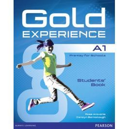Aravanis Rosemary: Gold Experience A1 Students´ Book with DVD-ROM Pack