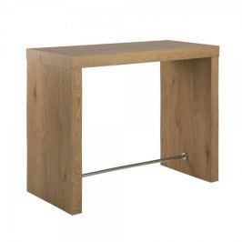 Design Scandinavia Barový stůl Strong, 130 cm, divoký dub
