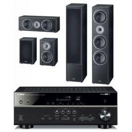 Yamaha HTR-4071 + Magnat Supreme 1002 set, černá