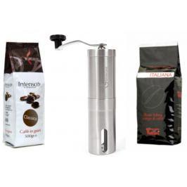 Intenso Dárkový balíček ručního mlýnku a zrnkové kávy