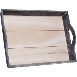 Time Life Podnos 38 cm, dřevo
