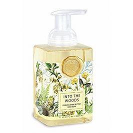 Michel Design Works Hydratační pěnící tekuté mýdlo na ruce Into The Woods (Shea Butter Hand Soap) 530 ml