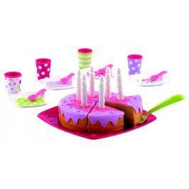 Ecoiffier Narozeninový dort vč. příslušenství
