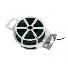 Vázací drát Zn+PVC s odstřihem, plochý - délka 100 m
