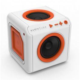 PowerCube audioCube Portable, bílá/oranžová