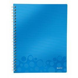 Blok organizační Leitz WOW A4  čtverečkovaný metalicky modrý