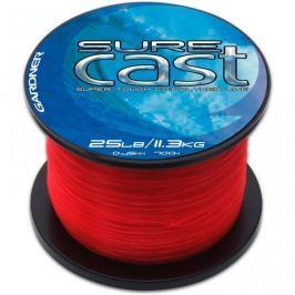 Gardner Vlasec Sure Cast  Red Červená 0,40 mm, 20 lb
