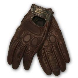 Dainese rukavice BLACKJACK, vel.L, hnědá, kůže (pár)