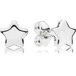 Pandora Drobné hvězdičkové náušnice 296374 stříbro 925/1000