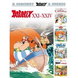 Goscinny R., Uderzo A.,: Asterix XXI - XXIV