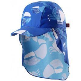 Reima Dětská čepice proti slunci Turtle UV 50+ 44/46 modrá