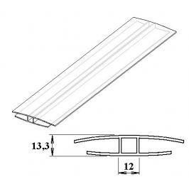 LanitPlast Polykarbonátový H-profil 10 mm 3 m