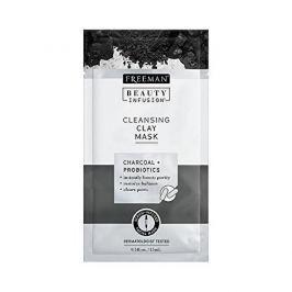 Freeman Čisticí jílová maska Aktivní uhlí a probiotika Beauty Infusion (Cleansing Clay Mask) (Objem 118 ml)