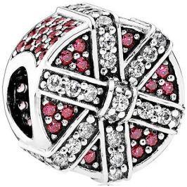 Pandora Překrásný korálek Třpytivý dárek 792006CZR stříbro 925/1000