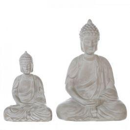 Papillon Keramická soška Buddha Spirit, 53 cm, šedá