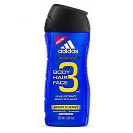 Adidas Sprchový gel pro muže 3 v 1 Sport Energy Shower Gel (Objem 400 ml)