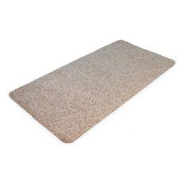 Béžová bavlněná čistící vnitřní vstupní rohož - 100 x 75 x 0,4 cm