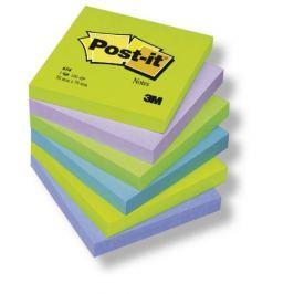 Blok samolepicí Post-it 76 x 76/6 ks snivé barvy