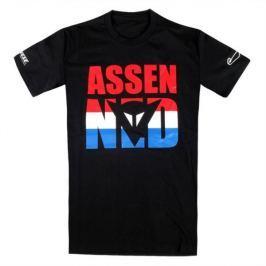 Dainese pánské triko ASSEN D1 vel.M černá