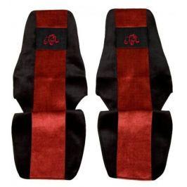 F-CORE Potahy na sedadla PS21, červené