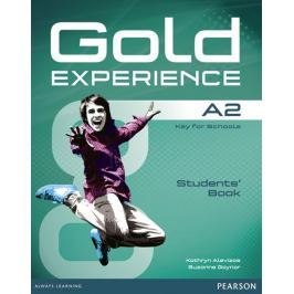 Alevizos Kathryn: Gold Experience A2 Students´ Book with DVD-ROM Pack